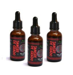 Dragon's Blood Resin – Pack of 3 bottles of 30 ml / 1.02 oz. each one