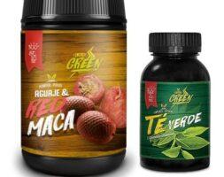 Special pack for Women – Aguaje & Red Maca Powder Plus Green Tea Capsules