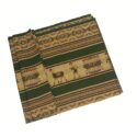 Andean Blanket (250 x128 cm) – Hand-knitted and Telar